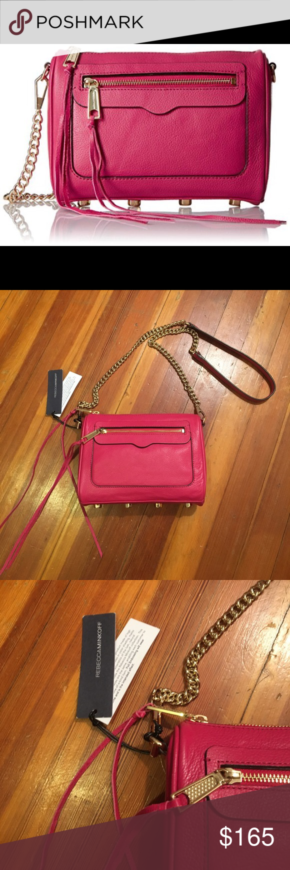 Colored Rebecca Beautiful Crossbody Cross Minkoff Avery Berry wO0Pn8k