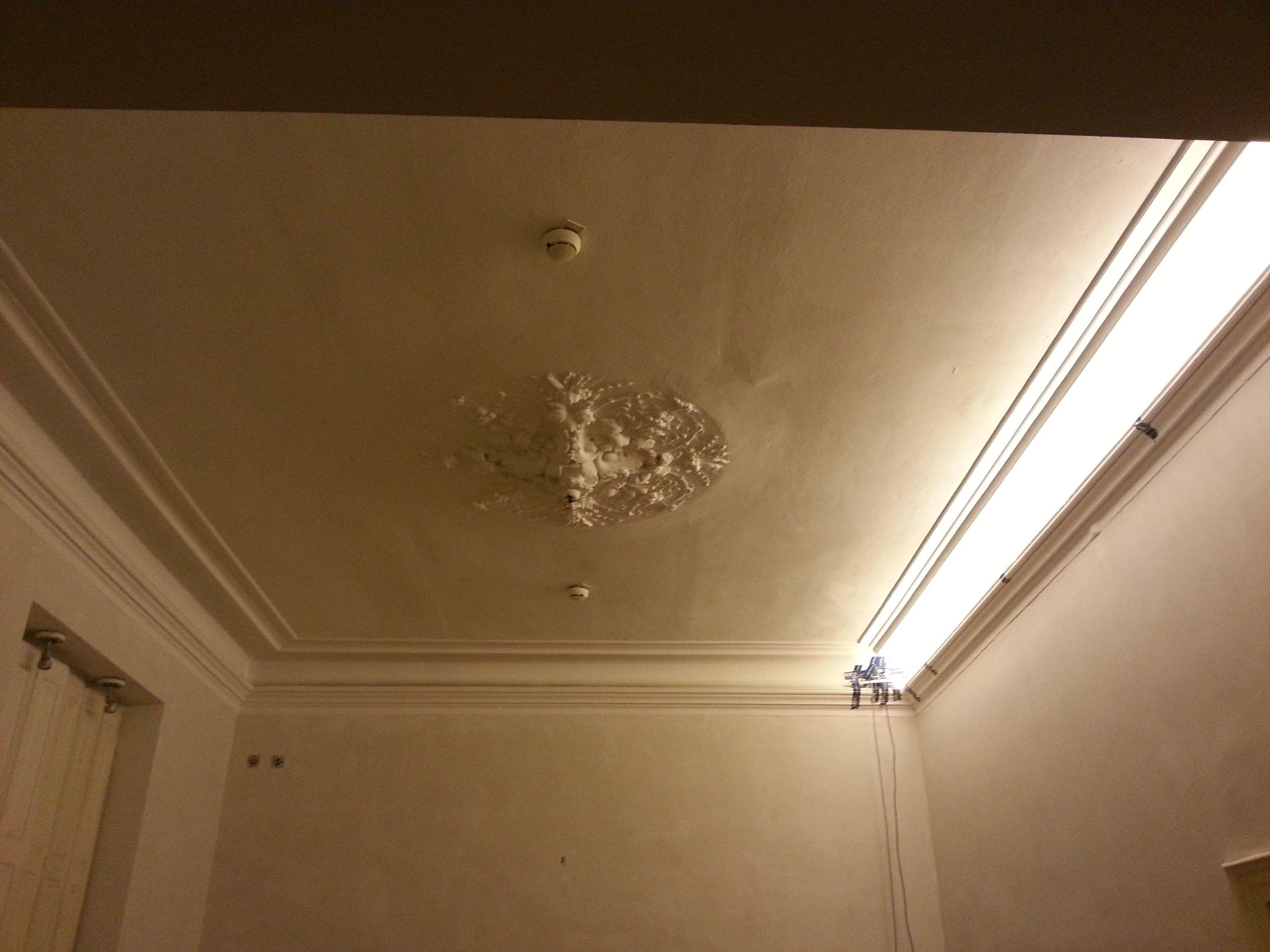 Stuckdecke Raum hinten. LED Probe. Warmweiß. | Vintage | Pinterest