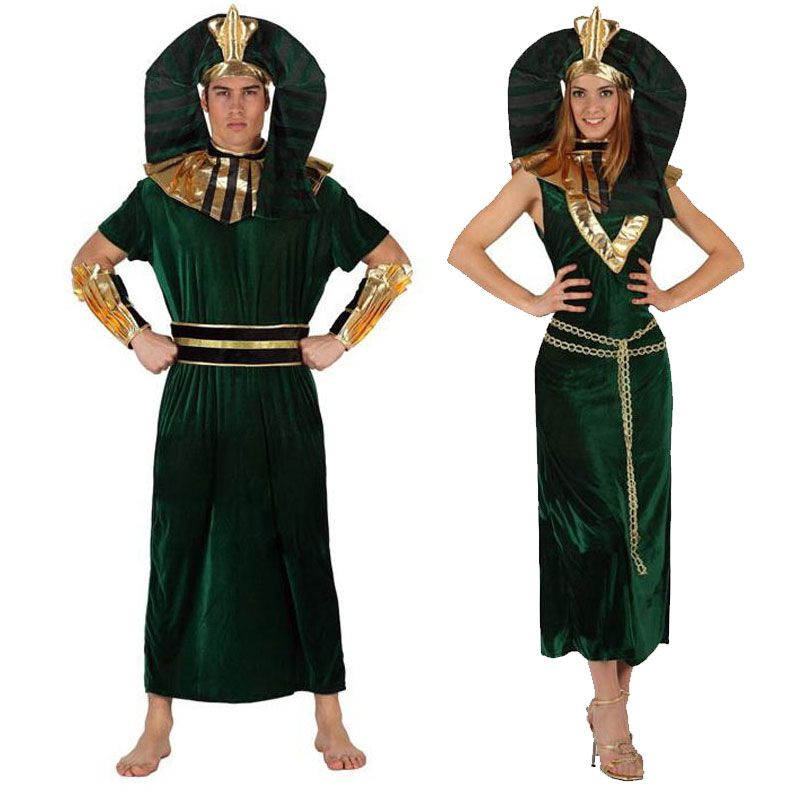 Pareja disfraces de faraones parejas disfraces carnaval - Difraces para carnaval ...