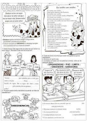 Atividades De Ensino Religioso Sobre Valores Humanos Papo