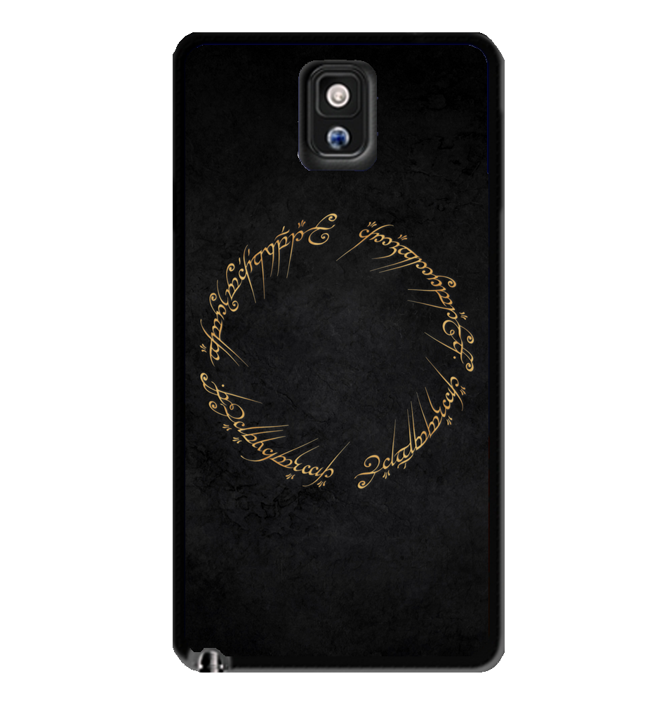 pin of rings note circle samsung lord case the galaxy script