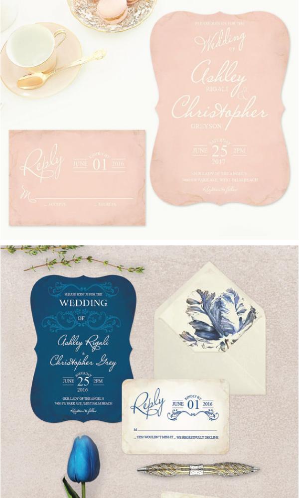 Invitation Designs By Victoria Of VG Invites Wedding