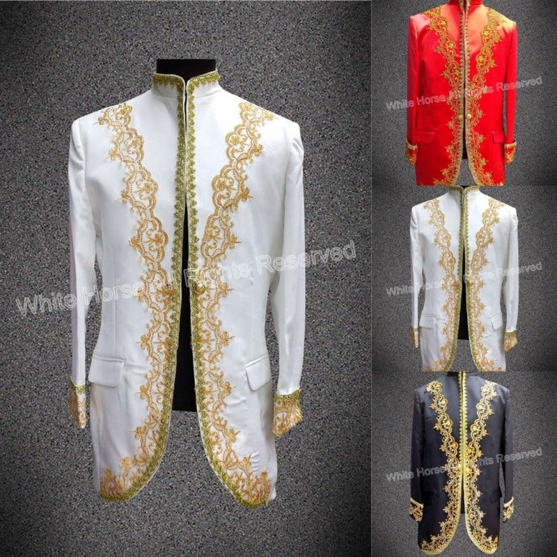 2015 spring jacket Men Suits Chinese Style Traditional Clothes belstaf Stage Jacket Performance Singer