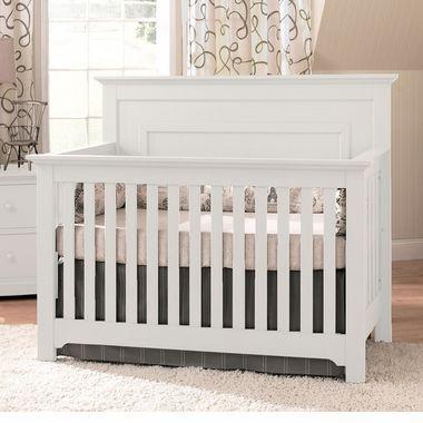 Munire Chesapeake Lifetime Crib In White Free Shipping 599 00 Convertible Crib Sets Convertible Crib Nursery Furniture Sets