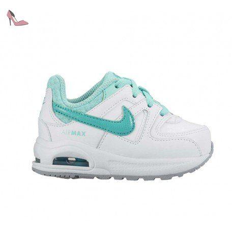 nike air max command flex ltr td chaussures mixte bébé blanco