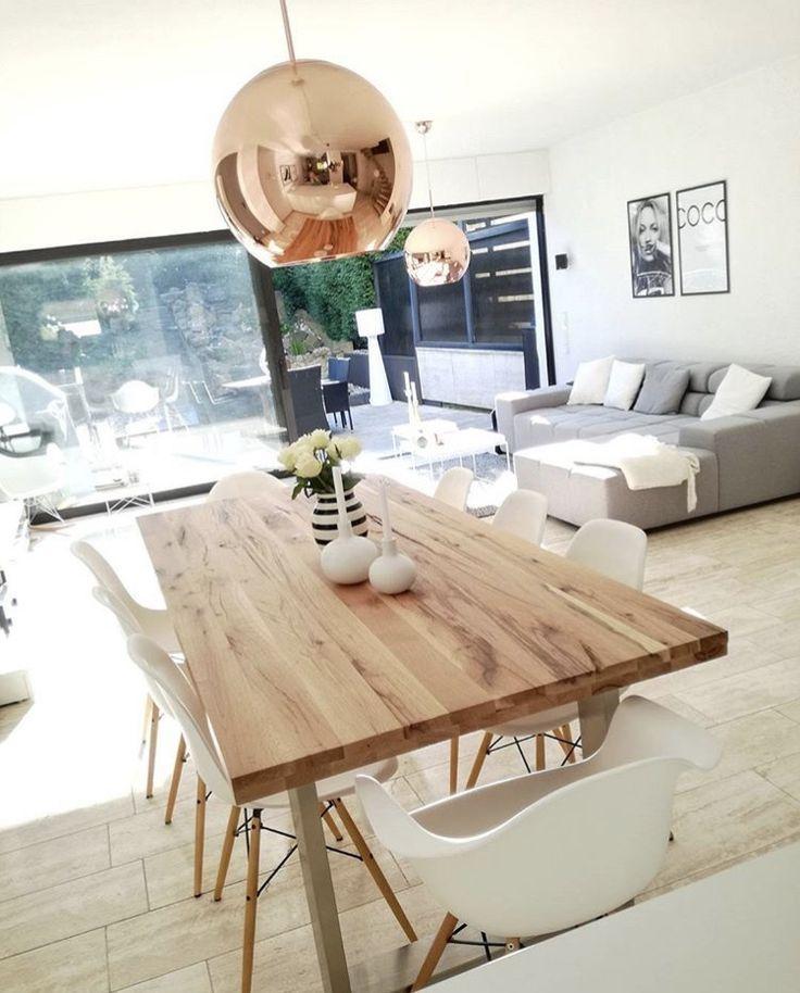Like chairs, like sofa, like windows. Don't like table, don't like floor...  - Esszimmer Ideen -