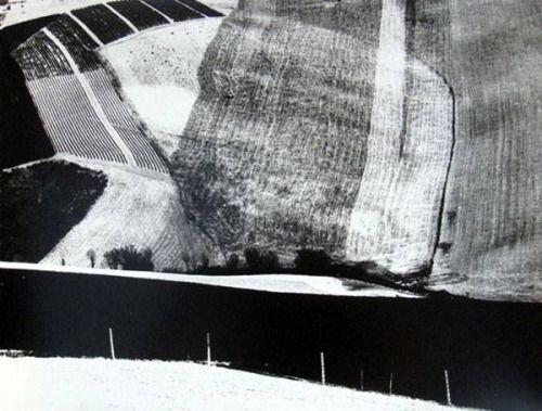 de-salva: Mario Giacomelli - Paesaggio (Paesaggio), 1955. gelatina d'argento di stampa