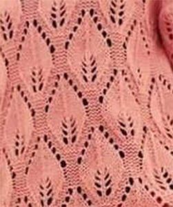 Large Leaf Lace Knitting Stitch Tejidos A Palillos Lace Knitting