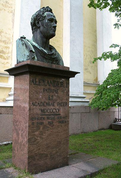 Statue Of Alexander I 1814 Russian Ivan Martos From Park Of