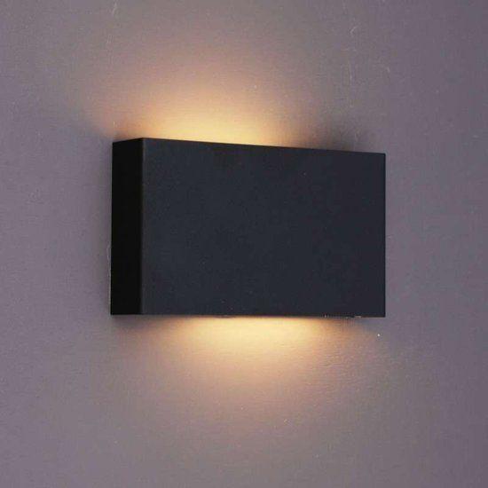 QAZQA Otan - Wandlamp - Zwart   Avize   Pinterest   Lights ...