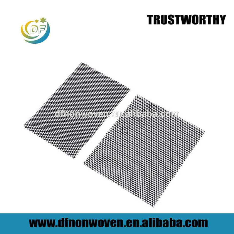 Fishing net good absorption activated carbon filter mesh