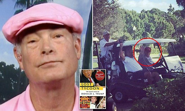 FLORIDA... Donald Trump kicked author HARRY HURT III of negative biography off his golf course | Daily Mail Online