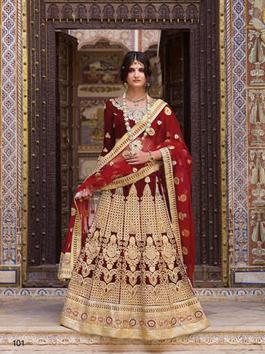 fdcae259856  Designer Lehenga Choli Maroon Indian Wear Desi Fashion  Natasha Couture   Indian Ethnic Wear  Bridal Wear  Wedding Wear