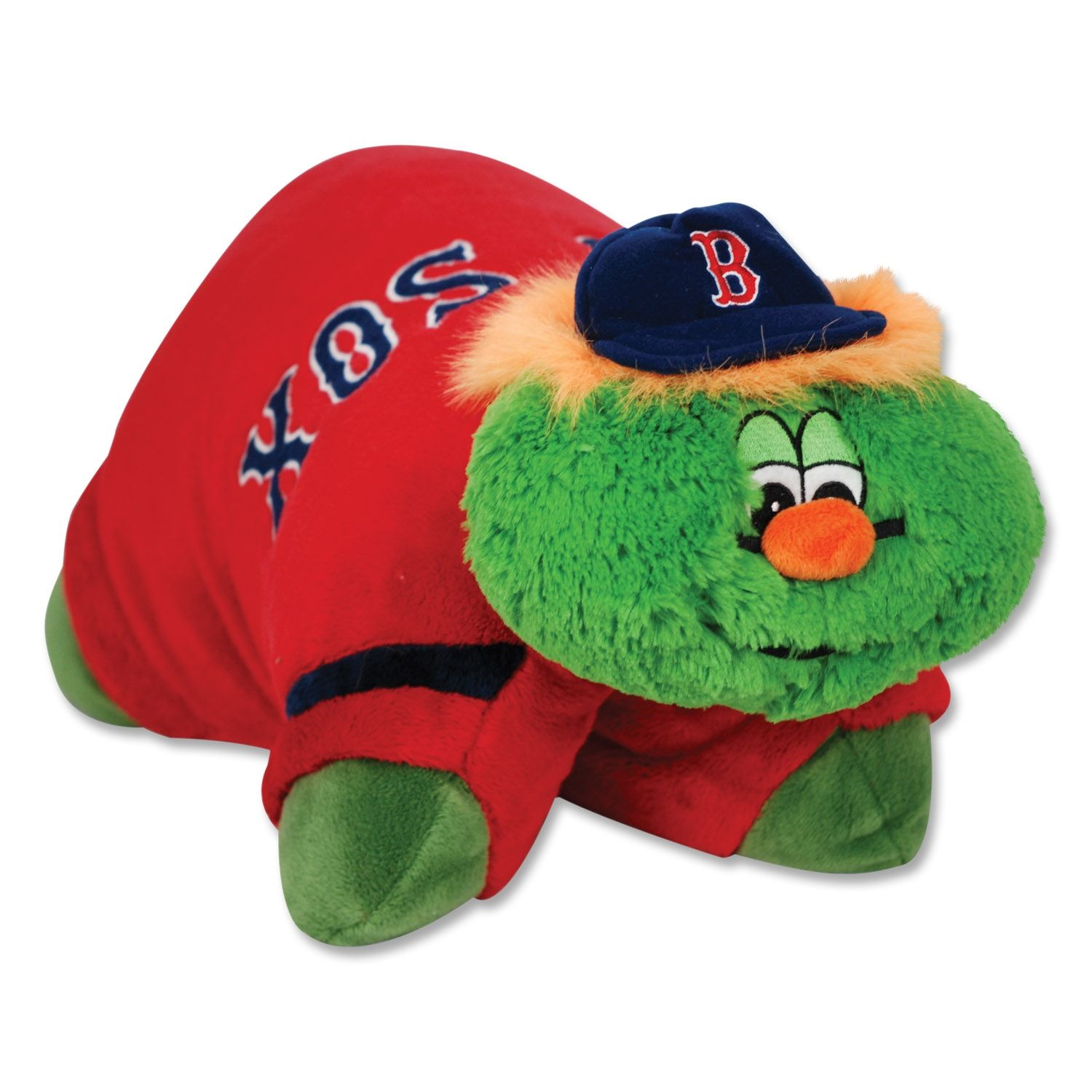 Red Sox Pillow Pet Wally The Green Monster Animal Pillows Green Monsters Plush Animals