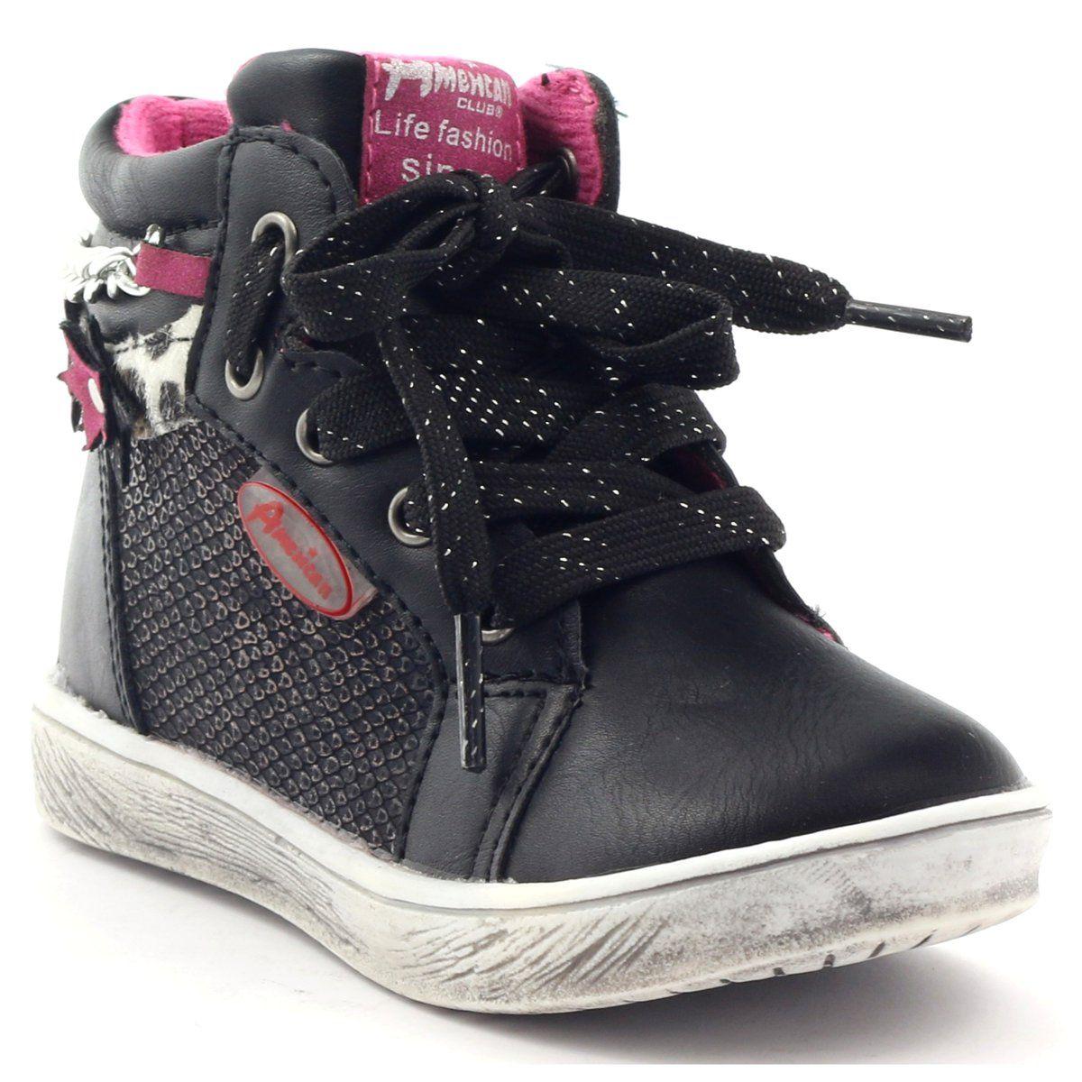 American Club Trzewiki Sportowe Suwak American 10108 Rozowe Szare Czarne Wedge Sneaker Shoes Sneakers