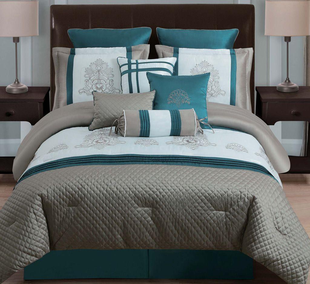 Extraordinary Comforter Sets King For Stunning Bedroom Decoration