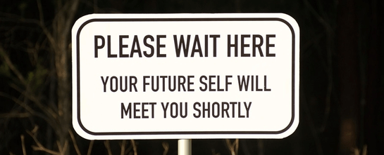 You see, time travel is real! This sign says so!