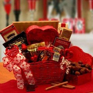 Cupids Choice Valentines Chocolates Gift Basket Ghirardelli