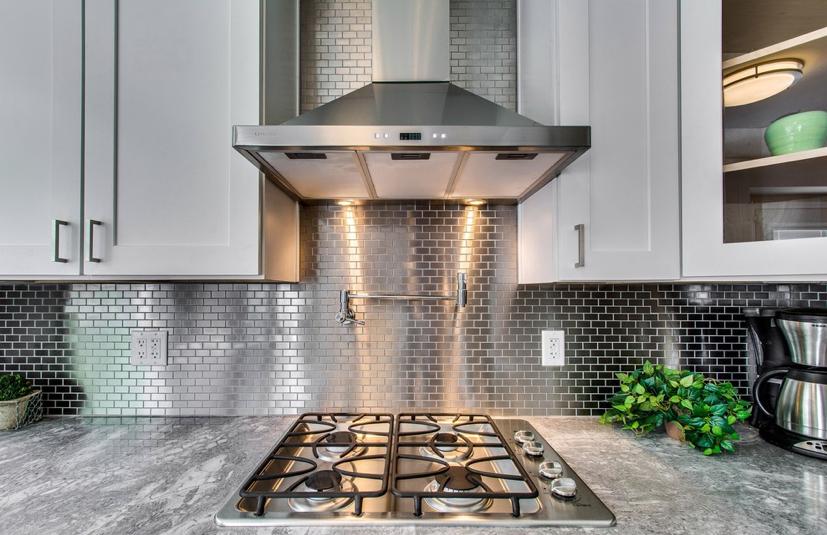 1x2 Stainless Steel Mosaic Metal Mosaic Tiles Stainless Backsplash House