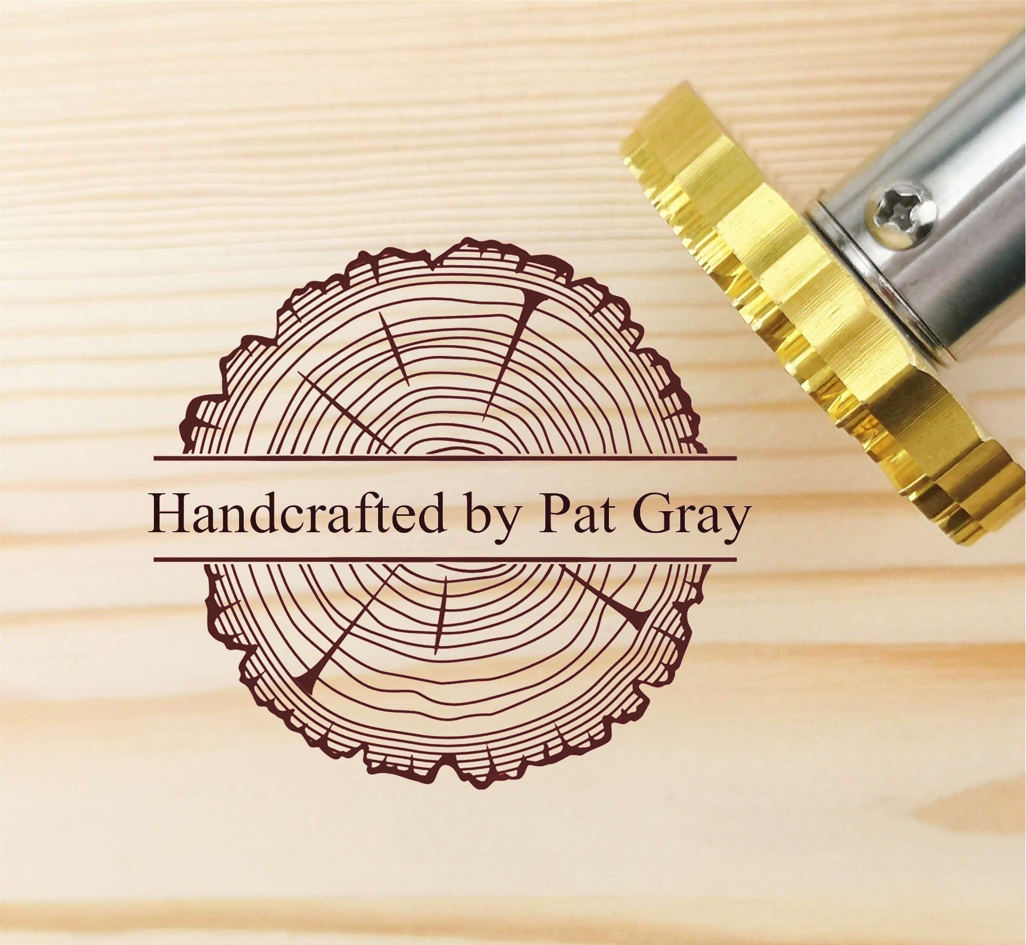 Custom wood burning stamp / Branding iron logo / Wood