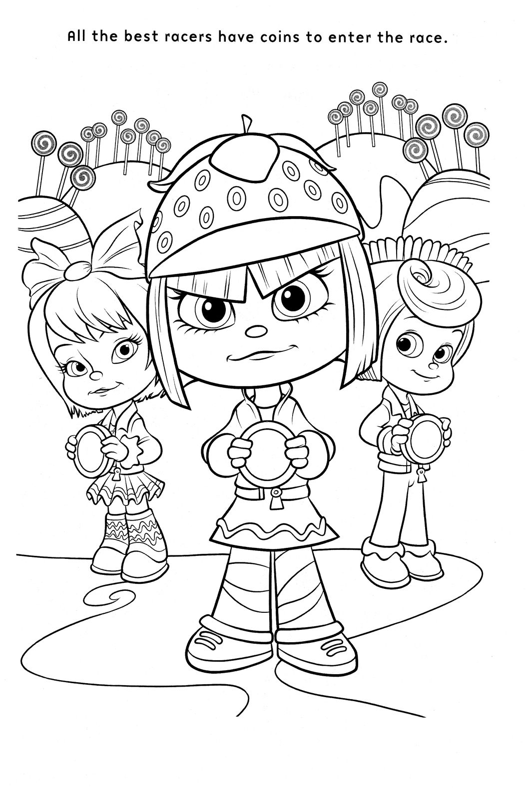 Coloriage Le Monde De Ralph Cool Coloring Pages Coloring Books