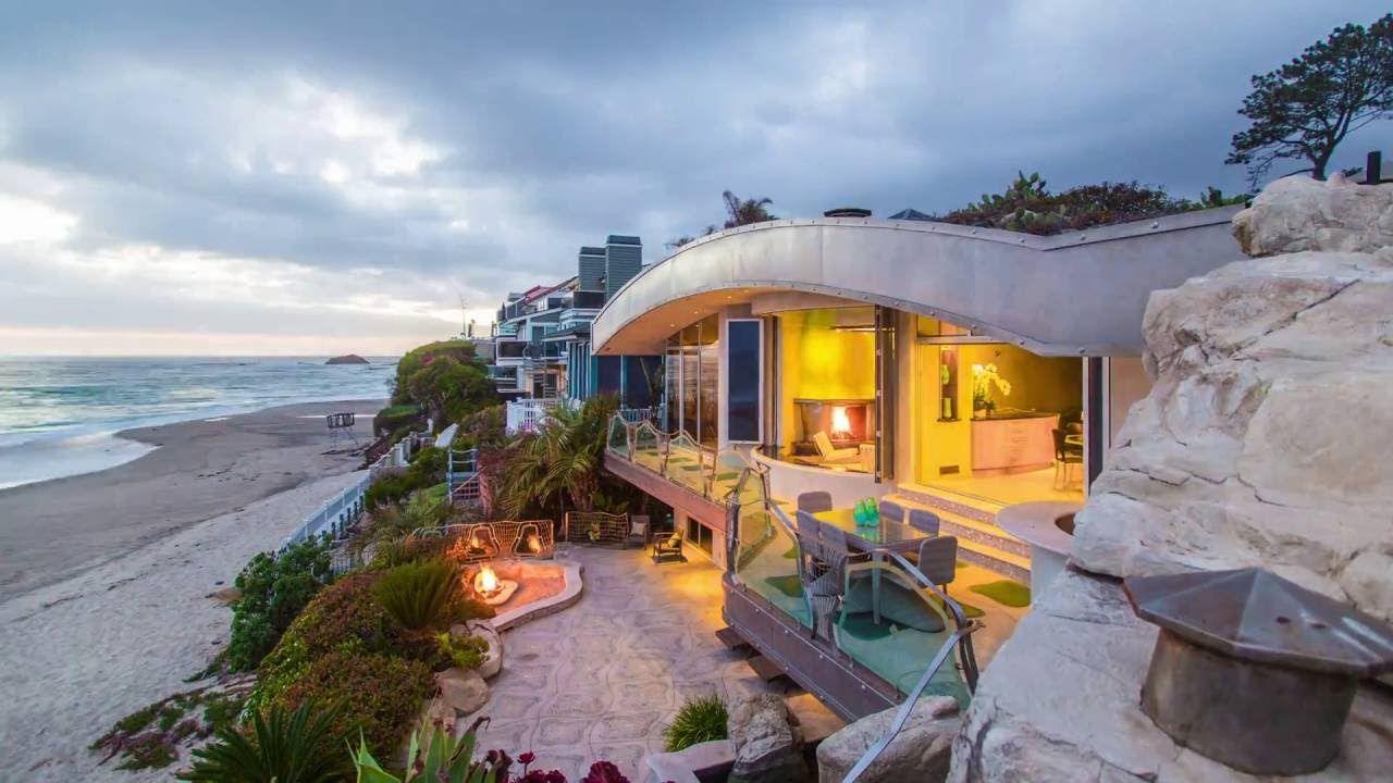 Tour Iconic Rock House 31107 Coast Laguna Beach Ca 92651