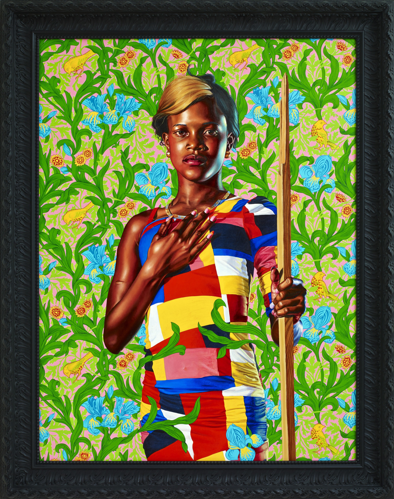 St. John the Baptist in the Wilderness 2013 by Kehinde