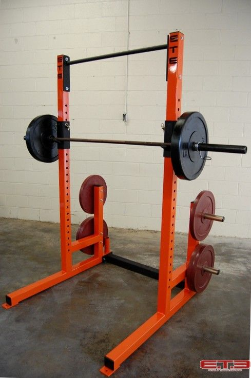 Squat Rack Pull Up Bar The Deluxe Squat Rack Includes 4 Weight
