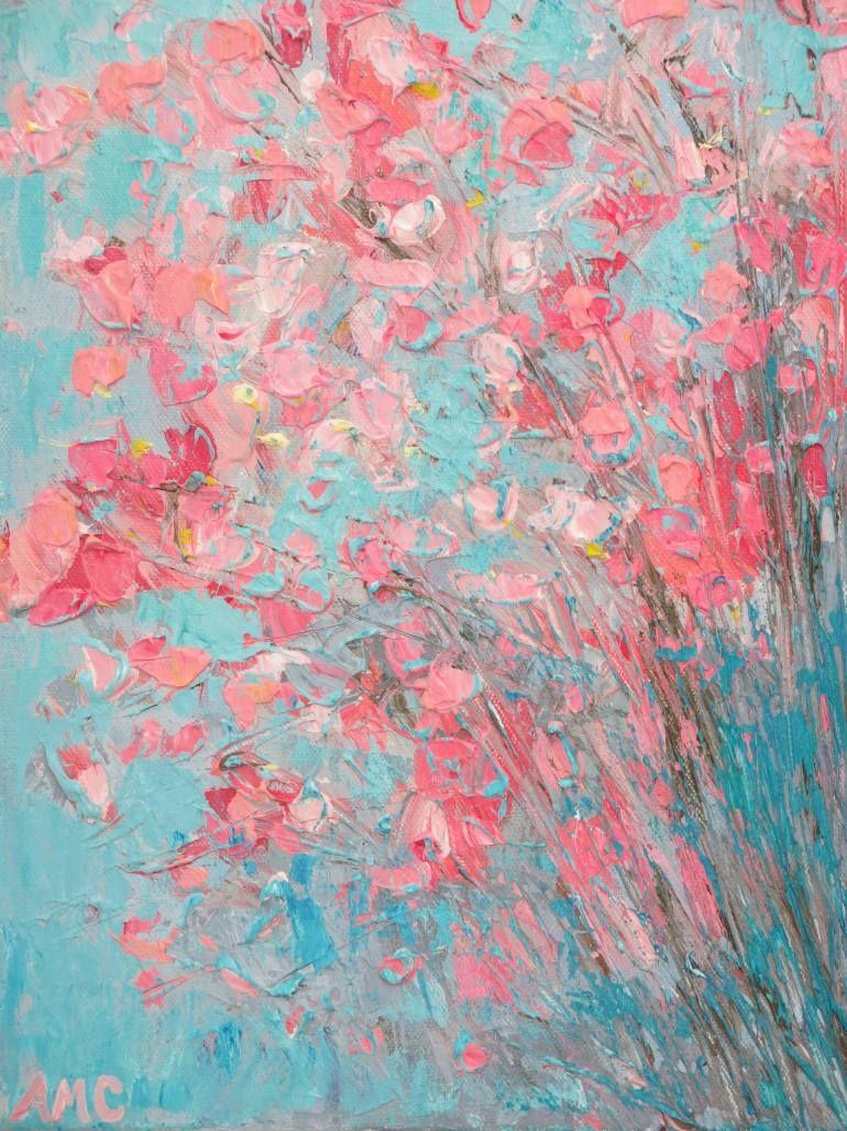 """Saatchi Art Artist Ann Marie Coolick; Painting, """"Appleblossoms"""" #art"""