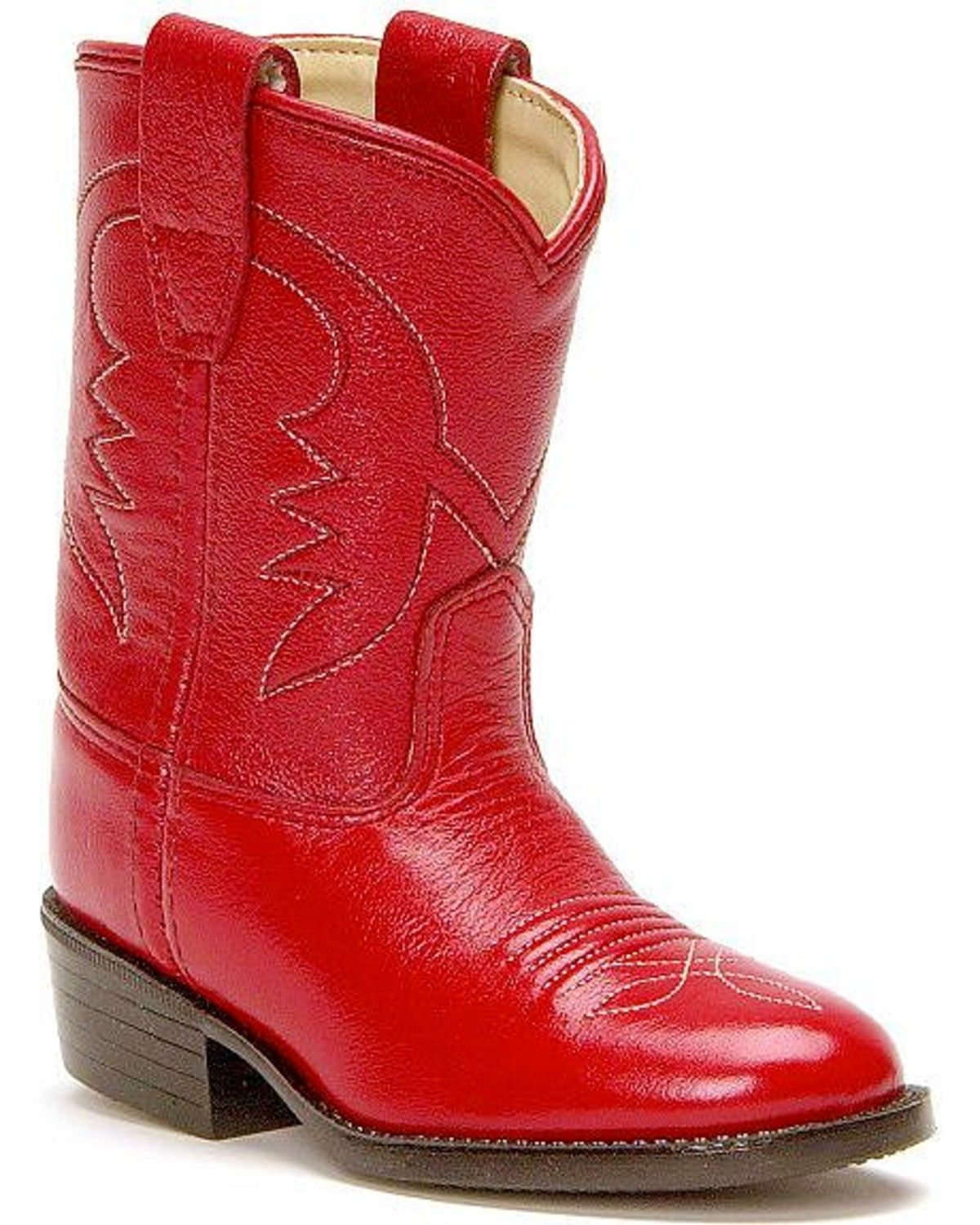 Old West Toddler Girls' Cowboy Boots