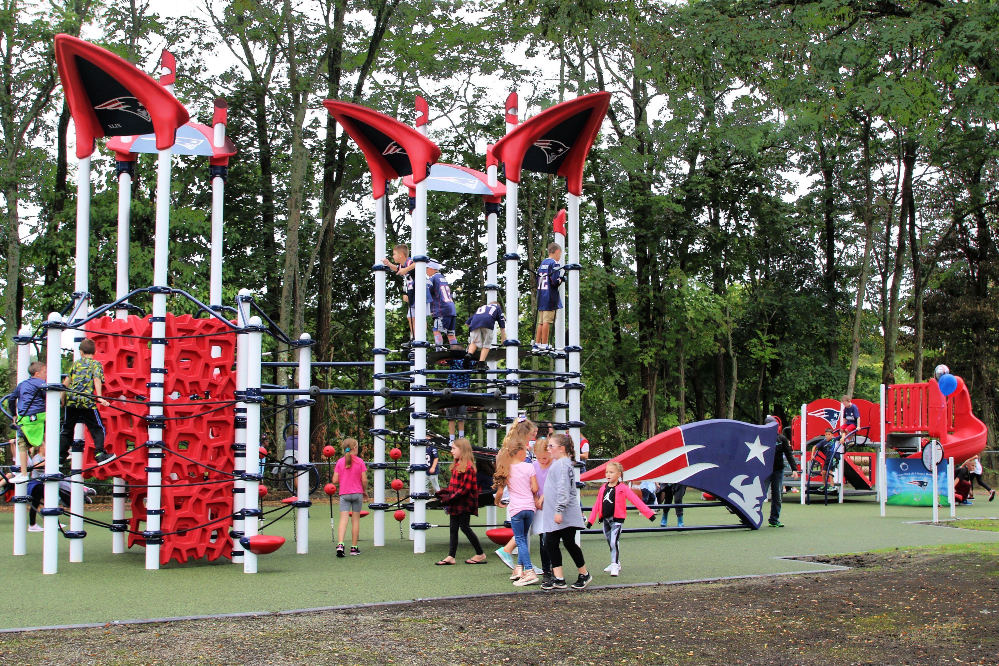 Patriots Pirates Castles Theme Playgrounds Spark Imaginative Play Around Boston Playground Boston Things To Do Boston With Kids