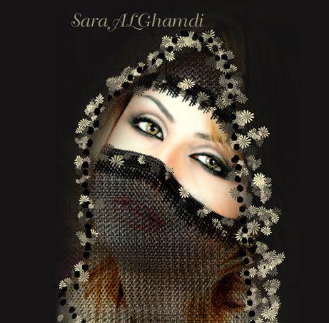 صور بنات ملثمات خقق 2012 صور بنات مبرقعات 2012 صور بنات لثمه 2012 صور بنات نقاب Beautiful Hijab Veil Veil Dress