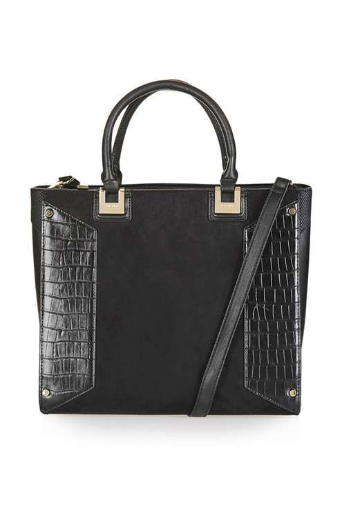 d4a060559cbe Panelled Heston Tote Bag