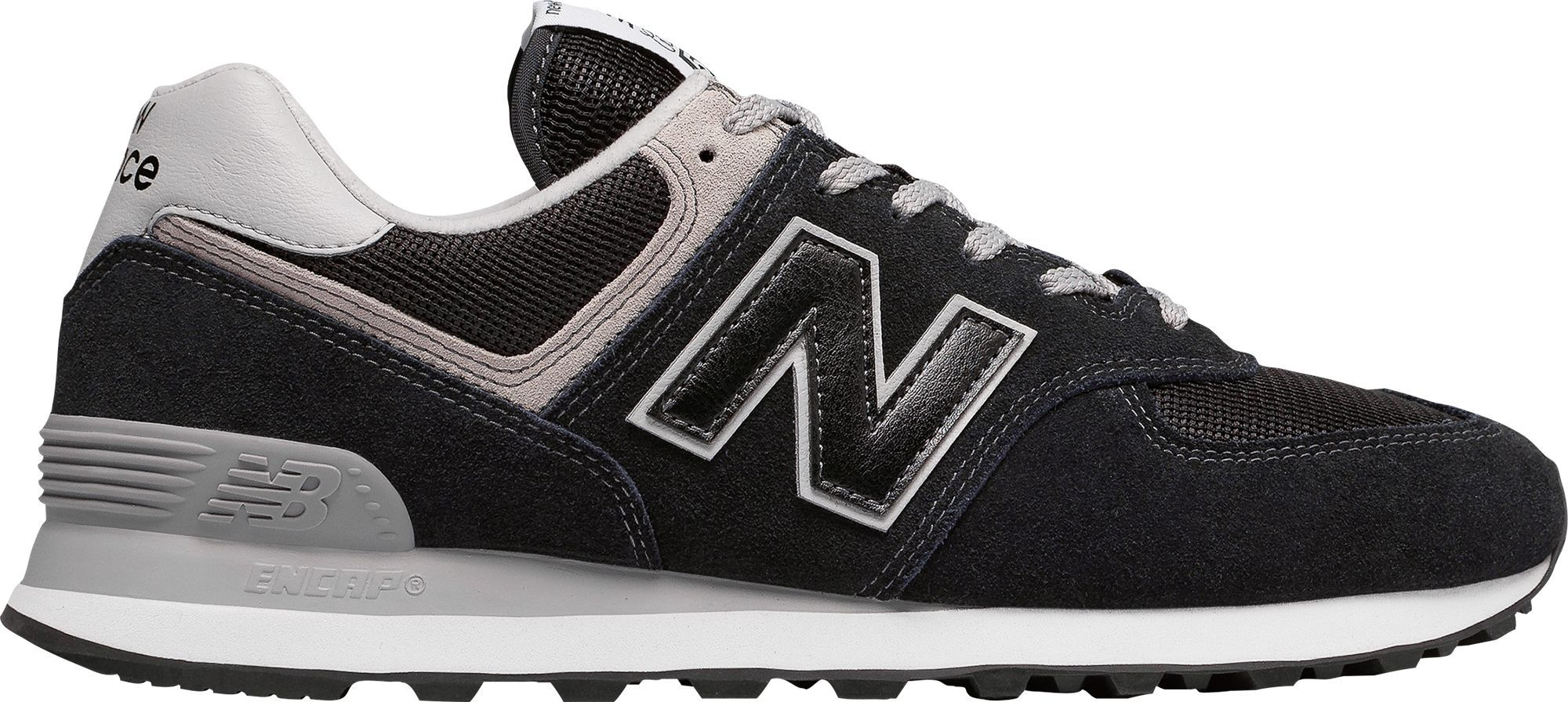 New Balance Men S 574 Casual Shoes Size 11 5 Black New Balance Men New Balance Sneakers Sneakers Fashion