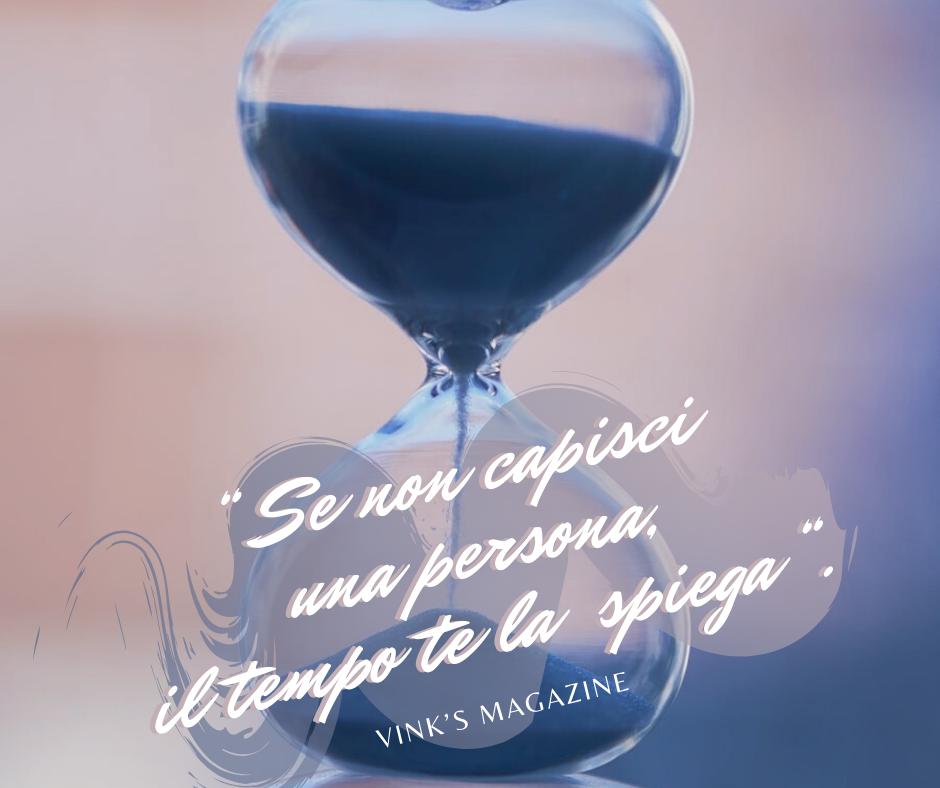 """""""Se non capisci una persona, il tempo te la spiega"""". ⏳⏰  #aforismi #citazioni #tempo #pensieri #parole #riflessioni #crescitapersonale #frasedelgiorno #frasiitaliane"""