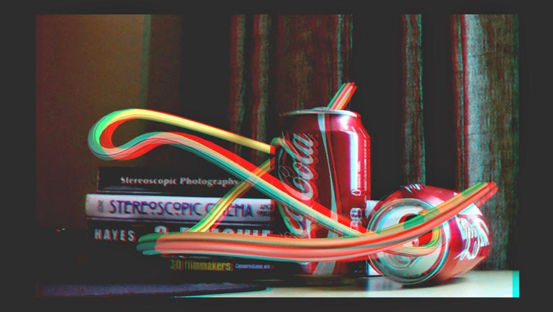Anaglifi: Coca Cola