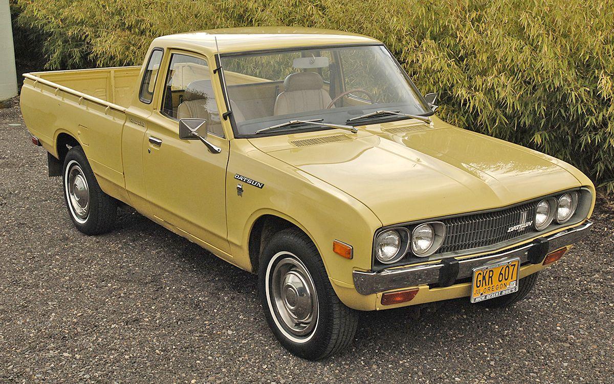 No Reserve 1977 Datsun 620 King Cab Pickup Classic Trucks Datsun Pickup Datsun