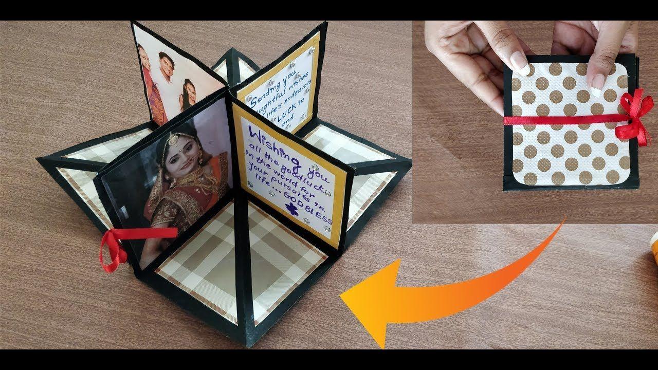 Diy Square Circular Pop Up Greeting Card Crafts Villa Cards Handmade Card Craft Pop Up Greeting Cards