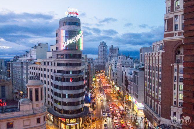 La Ruta De Las Mejores Terrazas De Gran Vía Madrid Centro