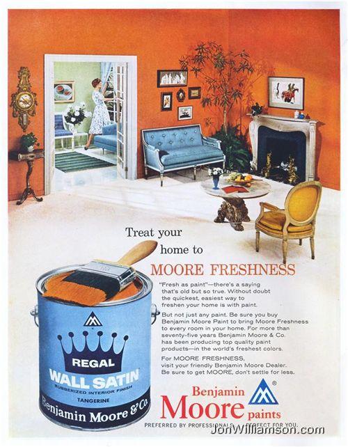 1959 ad regal wall satin benjamin moore pinterest benjamin moore and walls. Black Bedroom Furniture Sets. Home Design Ideas