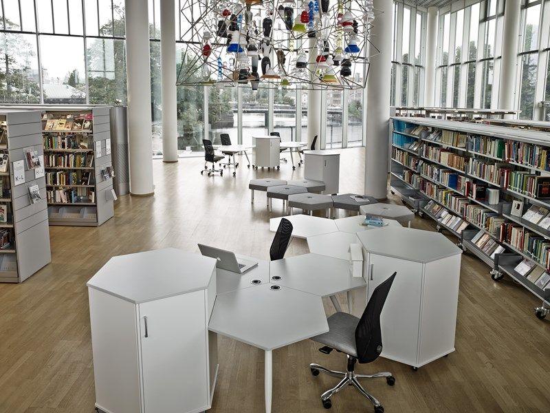 Meuble Bureau Kinnarps : Trixagon storage office storage office furniture kinnarps