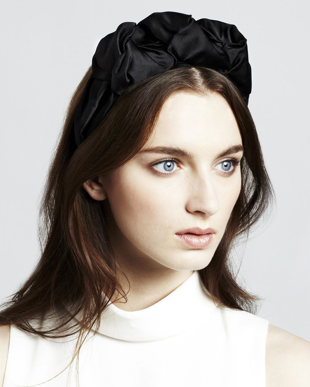 Rosette Silk Headband Jennifer Behr fSrT9