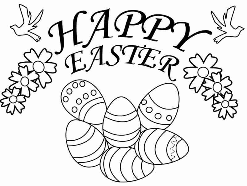 Easter Coloring Pages App Background