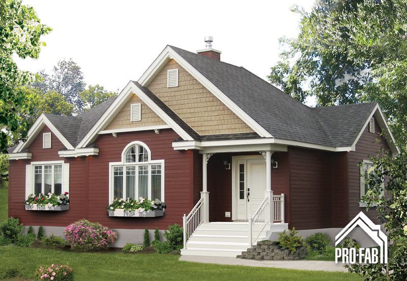 Pro fab constructeur de maisons modulaires usin es pr fabriqu es mod le notoire country - Constructeur maison modulaire ...
