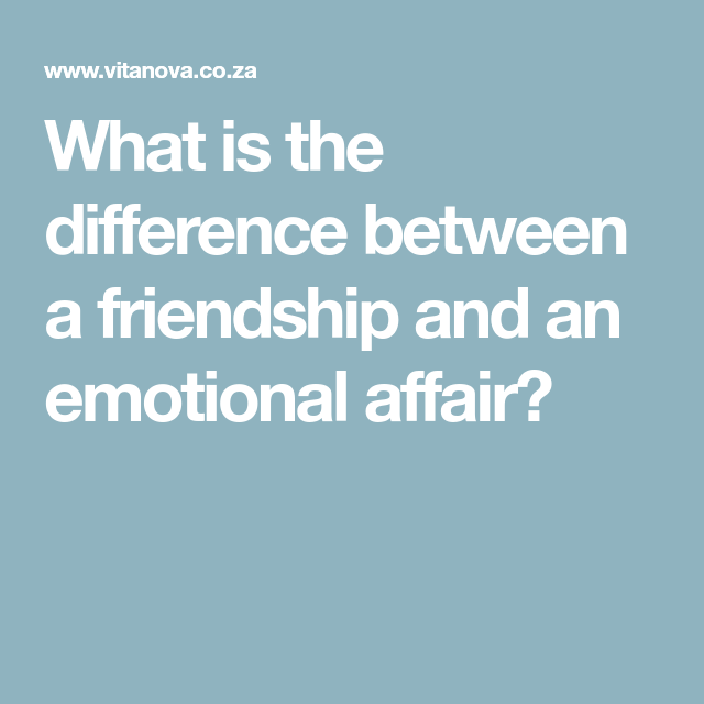difference between marriage and friendship