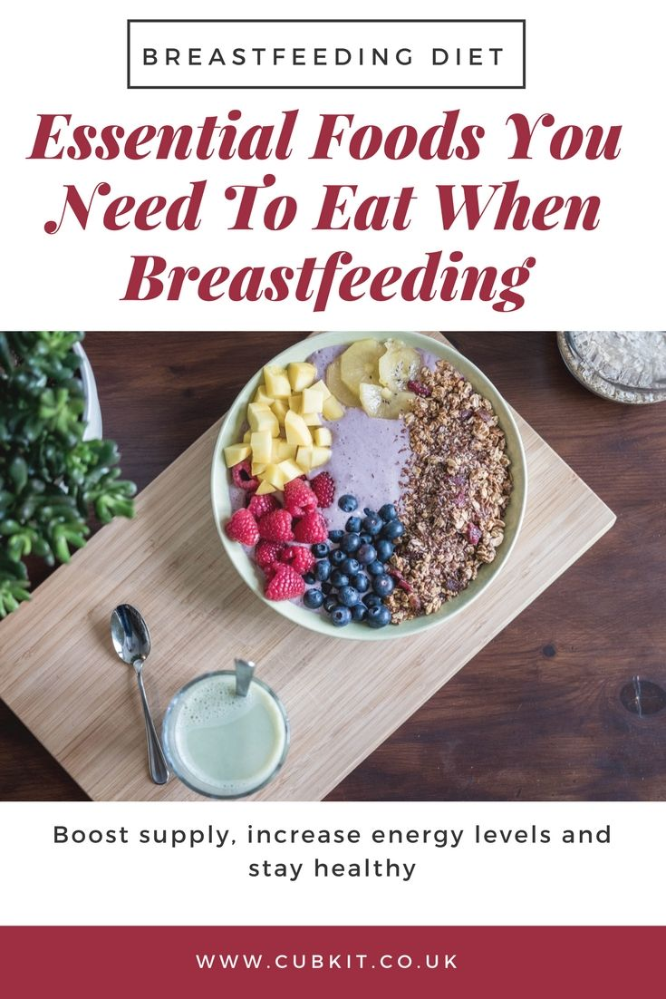 What Foods Should Breastfeeding Mums Eat? Breastfeeding