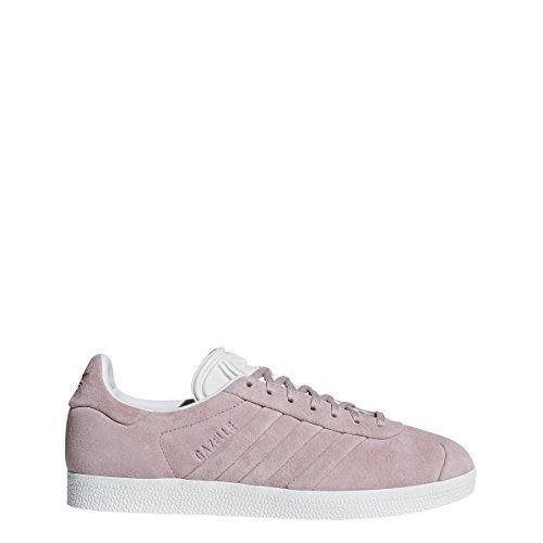 adidas Womens Gazelle Originals GreyGreyGold Metallic Casual Shoe 9 Women US