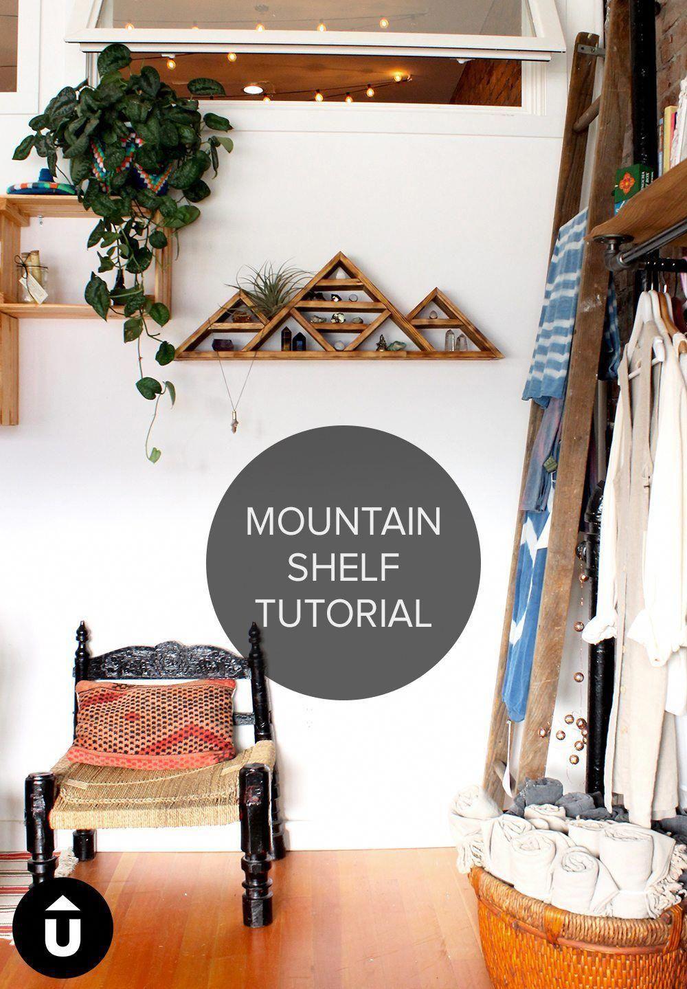 Mountain Shelf Tutorial Upcycle That Diywoodchristmas Diy Wood