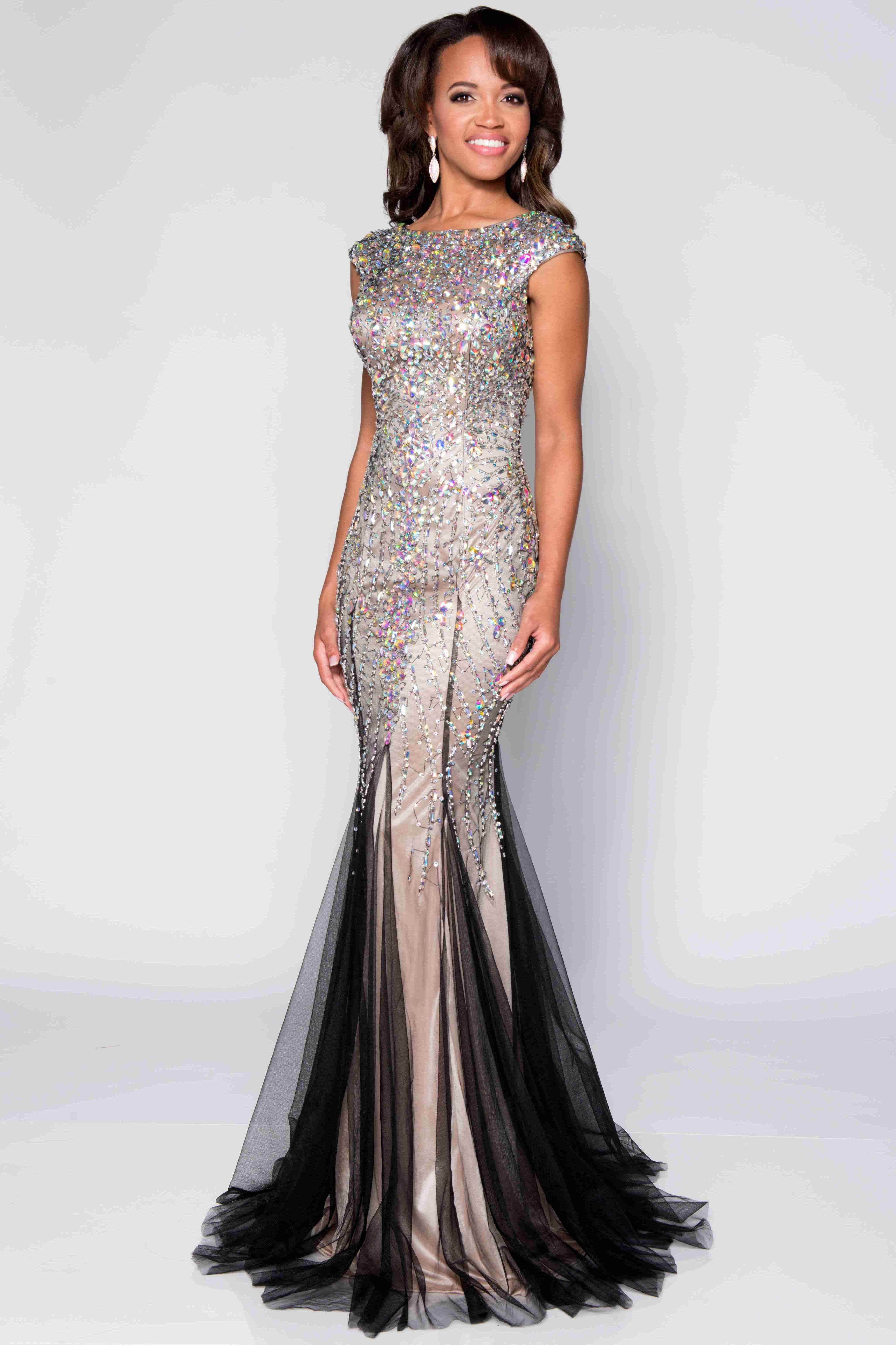 157.49 - Sequined Mermaid Prom Dress Free Shipping   Free Custom Made! Buy  cheap prom dresses 7eafe76a66ae