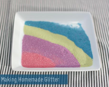 DIY: Homemade Glitter